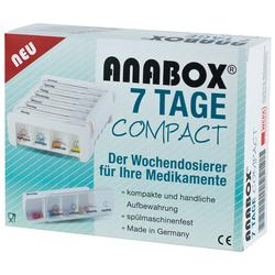 ANABOX 7 TAGE COMPACT WEIS
